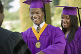 Young Man Graduating — Stock Photo