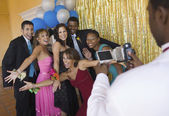 Teenagers Hamming It Up for Prom Photo — Stock Photo