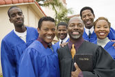 Preacher and Choir — Stock Photo