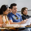 Students studying in classroom — Stock Photo #33801295