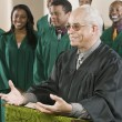 Minister Preaching — Stock Photo #33802035