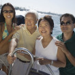 Stock Photo: Sailing Family