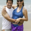 Stock Photo: Couple at the Beach