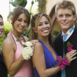 Couples Dressed for Prom — Stock Photo #33802779