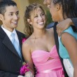 Dating Couples at Formal Dance — Stock Photo
