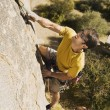 MClimbing on Cliff — Foto de stock #33804411