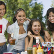 Women at a Picnic — Stockfoto
