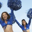 Stock Photo: Cheerleaders