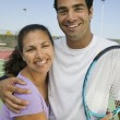 Tennis Players — Stock Photo #33805995