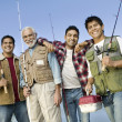 Family Fishing Trip — Stock Photo