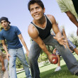 Men playing football — Stockfoto