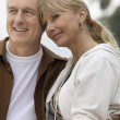 Mature couple embracing — Stock Photo #33809035