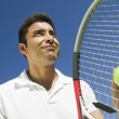 Male Tennis Player — Stock Photo