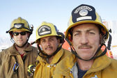Fire fighters — Stock Photo