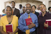 Sunday Service Congregation — Stock Photo