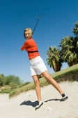 高尔夫球手 — 图库照片