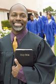 Smiling Preacher — Stock Photo