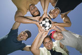Recreational Soccer Team — Stock Photo