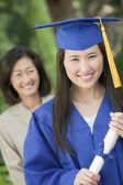 Graduate anläggning diplom — Stockfoto