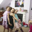 Young Girls striking a pose — Stock Photo #33819581