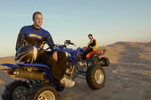 Four Wheeler Riding — Stock Photo