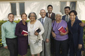 Christian African Family — Stock Photo