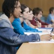 Students in lecture room — Stock Photo #33822735
