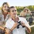 Two couples on trip — Stock Photo #33825461