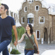 Stock Photo: Couple Sightseeing