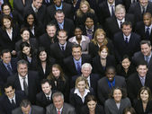 Large group of business people — Stock fotografie
