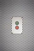 Red and green buttons — Stock Photo