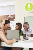 Team Working Together — Stock Photo