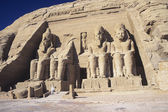 Temple of Ramesses II at Abu Simbel — Stock Photo