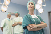 Head of Surgical Team — Stock Photo