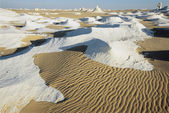Sand Lying Across Mineral Deposits — Stock Photo