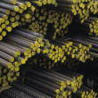 Stock Photo: Bundles of Rebar