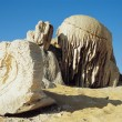 Stock Photo: Mineral Formation In Sand