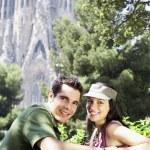 Couple enjoying view — Stock Photo #33832557