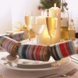 Setting at Christmas — Stock Photo #33832909