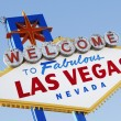 Las Vegas Welcome Road Sign — Lizenzfreies Foto