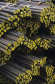 Bundles of Rebar — Stock Photo