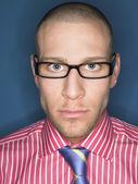 мужчина в очках — Стоковое фото