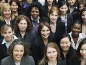 Group of business women — Stock Photo