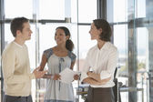 Office Workers in Meeting — Stock Photo