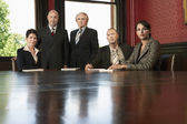 Lawyers in Conference Room — Stock Photo