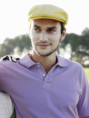 Young male golfer — Stock Photo