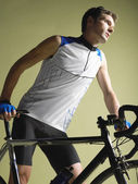 Male Bicyclist — Stockfoto