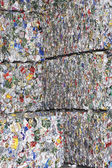 Stacks of recycled paper — Stock Photo