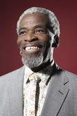 Afryki człowiek uśmiechający się — Zdjęcie stockowe