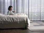 Man reclining — Stok fotoğraf